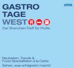 Gastrotage West: Messe informiert Gastro-Profis
