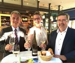 In Vino veritas: 39. Rheingauer Weinmarkt in Frankfurt