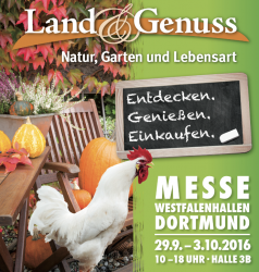 """Land & Genuss""-Messe: Landluft in Dortmund"