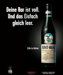 Neue Kampagne: Fernet Branca will humorvoller sein