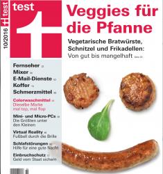 Stiftung Warentest testet Fleischersatz: Schadstoffe im vegetarischen Schnitzel