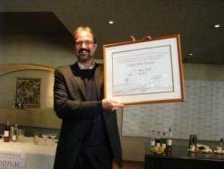 Jürgen Deibel als Cognac BNIC Educator ausgezeichnet