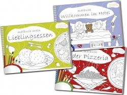 Beschäftigung mit Spaß: Malbücher für Gastronomie und Hotellerie