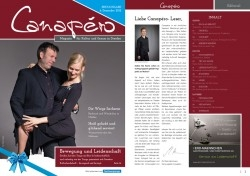 Ein neues Medium für Dresden: Canapéro - Magazin für Kultur und Genuss