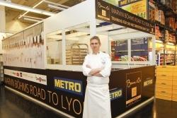 "Finalvorbereitung: Bocuse d'Or Germany-Sieger trainiert in Metro-""Kochbox"""