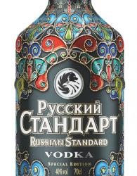 Russian Standard  Vodka: Neue Limited Edition in schmuckvoller Ausstattung
