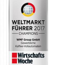 Top-Performer: WMF Group ist Weltmarktführer Champion 2017