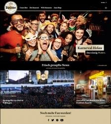 Relaunch: Warsteiner mit neuer Webseite