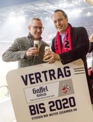 Sponsoring: Privatbrauerei Gaffel und der 1. FC Köln kooperieren weiter