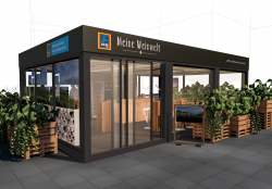 Aldi Süd: Pop-up-Store sorgt für Weingenuss in der Düsseldorfer Innenstadt