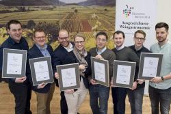 Auszeichnung – Beste Weingastronomen 2017 wurden prämiert