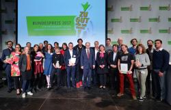 """Gegen Lebensmittelverschwindung: """"Zu gut für die Tonne!""""-Bundespreis verliehen"""