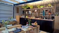 MAK Frankfurt: Interkulturelle Kochbegegnungen im Küchencontainer