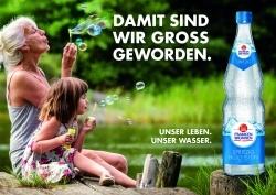 Neue Dachmarken-Kampagne: Franken Brunnen appelliert an die Gefühle der Kosumenten