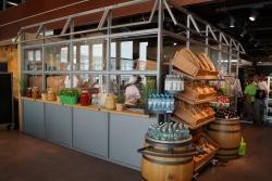 Düsseldorf Airport: Marché Mövenpick mit vegetarischer Insel und erlebbarer Natural Bakery