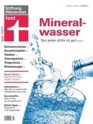 Verunreinigt: Stiftung Warentest findet Chrom im Mineralwasser