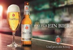 Moderner: König Pilsener mit neuem Design und Werbekampagne
