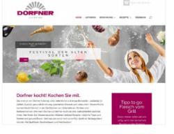 Rezepte und Infos: Neues Online-Angebot von Dorfner Catering