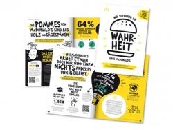 McDonald's Deutschland: Porzellan und Glas am Tresen und Nachhaltigkeitsbericht