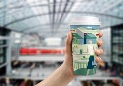 Nachhaltig: Deutsche Bahn bringt Mehrwegbecher ins Bordbistro