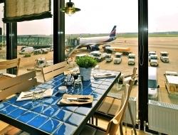 Flughafen Hannover: Marché Mövenpick Restaurant ist jetzt Palavrion Grill