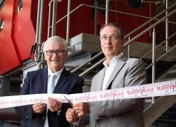 Eingeweiht: Neue Kelterei im Haus Rabenhorst