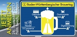 Jetzt anmelden: 5. Baden-Württembergischer Brauertag in Stuttgart