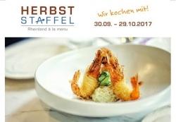 Rheinland kulinarisch: Herbststaffel lockt mit Menü-Angeboten