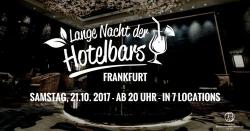 Frankfurt: Die lange Nacht der Hotelbars lädt ein