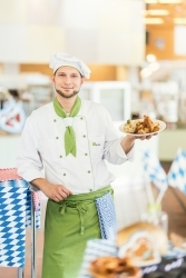 Zünftig: WISAG sorgt für Oktoberfest-Feeling in den Betriebsrestaurants