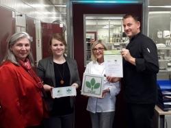 Catering: Rebional wurde mit DGE-Zertifikat ausgezeichnet