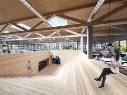 Baubeginn Sommer 2018: Neue Mensa am Duisburger Campus der UDE