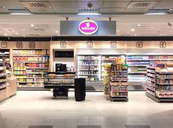 Flughafen Berlin-Schönefeld: Lagardère Travel eröffnet neuen Mini-Supermarkt 1minute