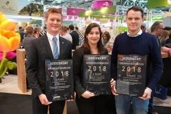Weinkenner: Jo Wessels ist Nachwuchssommelier des Jahres