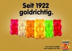 Haribo: Neuer Plakatflight für Goldbären gestartet