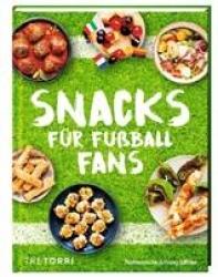 Buchtipp: Die passenden Snacks zur Fußball-WM