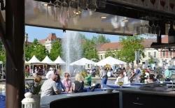 Potsdam: Zweiter Weinmarkt auf dem Luisenplatz lädt ein