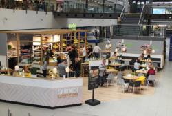 Marché Mövenpick : Neue  Sandwich Manufaktur am Flughafen Leipzig/Halle