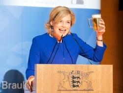 Deutscher Brauerbund: Julia Klöckner ist Botschafterin des Bieres