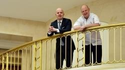 Adlon Kempinski: Philipp Pögl und Stephan Eberhard leiten die kulinarischen Geschicke
