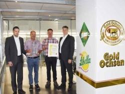 Zum sechsten Mal: Ulmer Getränke Vertrieb GmbH erhält höchstes Libella Qualitätssiegel