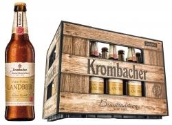 Krombacher Brautradition: Neue Sorte Naturtrübes Landbier