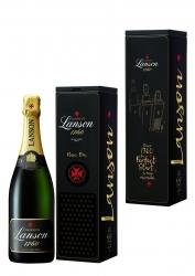 Champagner meets Musik: Lanson launcht Black Label Brut Geschenkedition