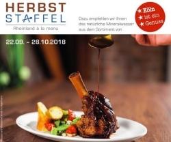 Restaurantevent: Kulinarische Herbststaffel startet im Rheinland