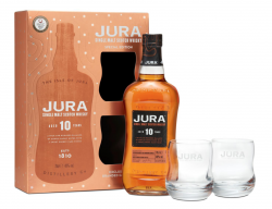 Jura Whisky: Jura 10 YO, 12 YO Geschenksets und Minipack erhältlich