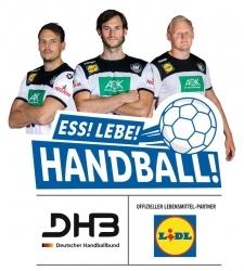 Handballsport: Lidl ist Fresh Food Partner der WM und Partner des DHB