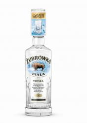 Vodka-Kreation: Żubrówka Biała Onpack mit Shotglas ab März erhältlich