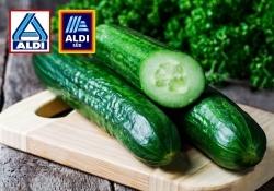 Gegen Plastikabfall: Aldi verkauft Salatgurken nur noch ohne Verpackung