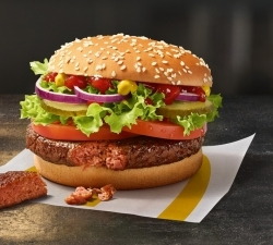 Fleischlos-Premiere: McDonald's bietet erstmals veganen Burger an