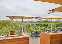 Grand Elysée Hamburg: Neue Rooftop Bar Top Seven eröffnet